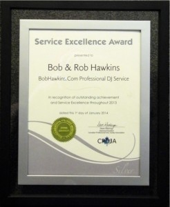 BobHawkins.com CPDJA Silver Customer Service Award